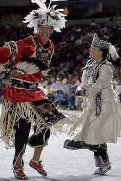 2007 Powwow by Smithsonian Institution, via Flickr Smoke dancers (Iroquois)
