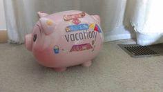 Vacation piggy