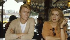 David Bowie and Catherine Deneuve