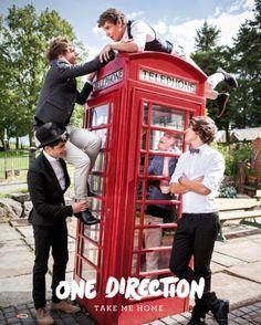 One Direction Take Me Home - plakat - 40x50 cm  Gdzie kupić? www.eplakaty.pl