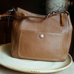 Coach shoulder bag! It does have some black marks on it as pictured above, other than that it's in great condition. Please make reasonable offer:) Coach Bags Shoulder Bags