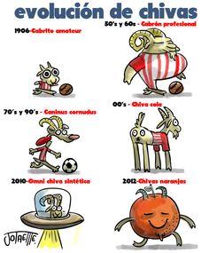 Evolución de Chivas