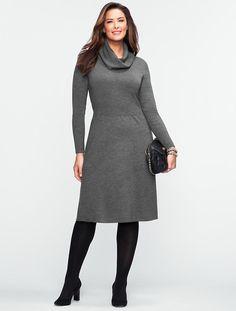 Talbots - Talbots Merino Sweater Dress   Woman   Woman