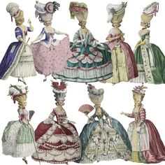 18th century fashion plates