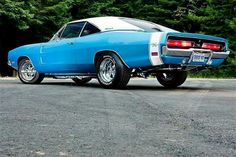Very nice color combo on this 69 Dodge Charger R/T