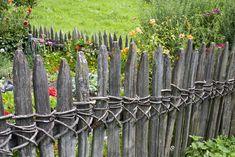 rusztikus fakerítések, keres
