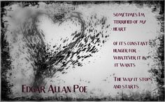 Edgar Allan Poe Love Quotes Edgar Allen Poe Quote Wall Decal$26.00 Via Etsy Jessie's .
