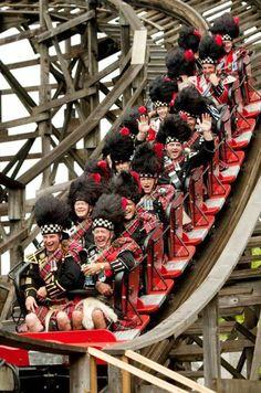 And not one kilt flew up. Edinburgh, Glasgow, British Isles, British Columbia, Perth, National Tartan Day, Men In Kilts, Kilt Men, Photos Of The Week