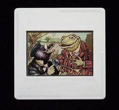 Mole and Toad, characters from Kenneth Grahame's classic children's novel, 'Wind in the Willows'. Bfg Roald Dahl, R L Stevenson, The Enormous Crocodile, Ice Dragon, Quentin Blake, Paddington Bear, Treasure Island, Red Riding Hood