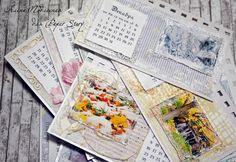 Календарь настольный перекидной своими руками
