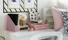 How to Style a Desk 3 Ways: The Blogger, The Fashionista & The Bohemian
