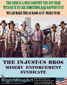 Obama's misery enforcement syndicate...