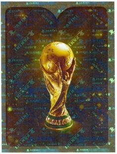 Sticker 2 FIFA World Cup Trophy Panini WM 2018 World Cup Russia Intro
