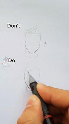 Art Drawings Beautiful, Art Drawings Sketches Simple, Pencil Art Drawings, Realistic Drawings, Diy Canvas Art, Art Tutorials, Art Lessons, Painting & Drawing, Sketching