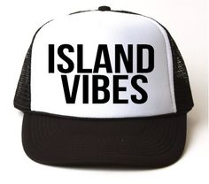 8c7ee71ffd1 ... baseball cap directly from China baseball cap Suppliers  Island Vibes Letters  Print Baseball Cap Trucker Hat For Women Men Unisex Mesh Adjustable Size ...