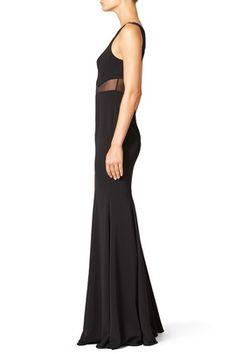 Black Rogers Gown by Jay Godfrey Szalagavító ee090eae8b