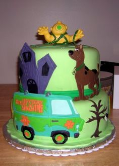 Great idea for the Diva if she is still on a Scooby Doo kick when her birthday rolls around... from layersoflove.blogspot.com