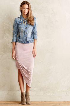 Oblique Wrap Skirt - anthropologie.com