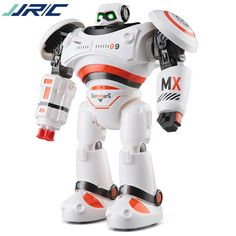 New English RC smart robot toy R-1  Infrared Slide Walk Shoot Dance Intelligent remote control Battle droid kids toy vs 775849 #Affiliate