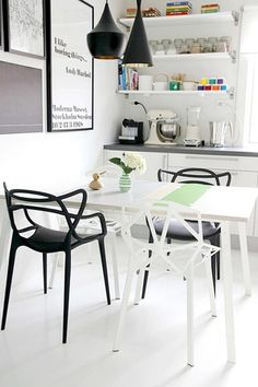 """""""We weren't born just today. There have been masters before us,"""" said Philippe Starck in 2009, referencing the linear profile of his Masters Chair for Kartell"""