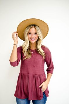 44c5fee7265d Babydoll Top with Hat Outfit