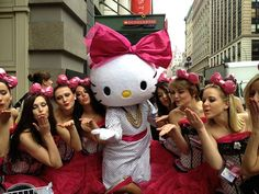Hello Kitty and friends! Look at all those pink bows! by iamchubbybunny, via Flickr #SephoraHelloKitty