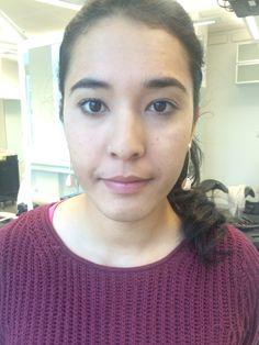 Makeup - skuggtekniker -Lock/droppskugga -modellering