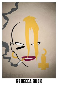 Rebecca Buck, aka Tank Girl/- this would make a badass tattoo
