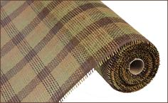 """21""""x10YD Woven Paper Mesh - Plaid #paper #mesh #plaid"""