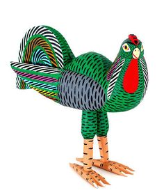 oaxacan wood carvings -Chicken