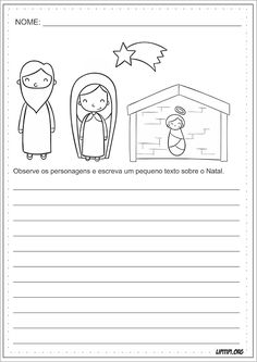 Natal Cristão Produção Textual