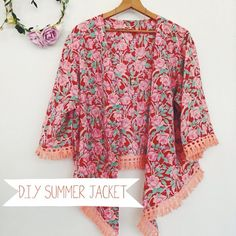 DIY summer jacket