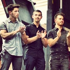 those three Jersey boys, Jonas Brothers