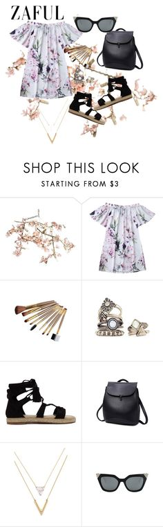 """ZAFUL DAY DRESSES – contest sponsored by ZAFUL.COM"" by sabii-dlii ❤ liked on Polyvore featuring Canopy Designs"