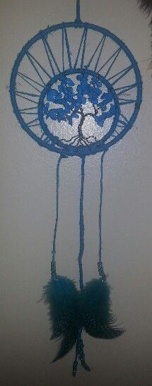 Dream catcher turquoise tree of life