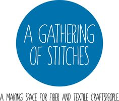 A workshop on upcycling clothing....what a great new local resource A Gathering of Stitches is!