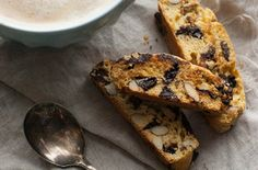 Chocolate Cherry Almond Biscotti