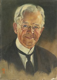 """""""Portrait of an Older Gentleman"""" by Norman Rockwell. 1929 oil on canvas. Scheduled for auction 2 October 2014 at Sotheby's NYC. Pre-auction estimate: $12,000-$18,000 USD. Sold at $12,500 USD."""