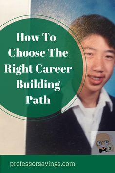 How career builders choose the right path #career #job #money Click=>> http://professorsavings.com/how-career-builders-choose-the-right-path-with-ben-casnocha-and-ramit-sethi/?utm_content=buffer63206&utm_medium=social&utm_source=pinterest.com&utm_campaign=buffer