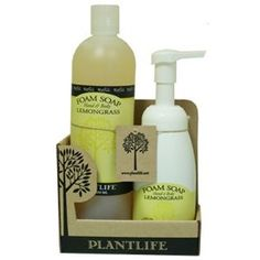Value Set Lemongrass Foam Soap A pure, natural and safe choice for all skin types and ages.. Natural, gentle, moisturizing Castile Foam Soap has no harmful chemicals or synthetics added!. Contains natural Glycerin, Aloe Vera, and other organic ingredients.. This product contains natural anti-bacterial ingredients to kill germs.. Ideal for use as a hand