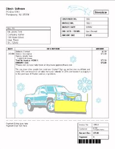 lawn care contracts templates free | places to visit | pinterest, Invoice templates