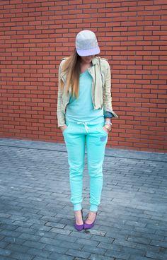 Streetwear & highheels