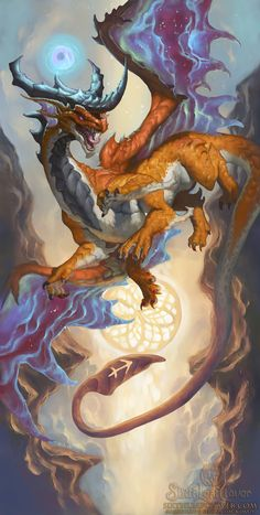 2016 Zodiac Dragons Sagittarius by The-SixthLeafClover.deviantart.com on @DeviantArt