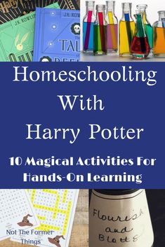 10 Magical Activities for homeschooling with Harry Potter Harry Potter School, Harry Potter Theme, Harry Potter Classes, Fun Learning, Learning Activities, Harry Potter Activities, Coding For Kids, Harry Potter Pictures, Harry Potter Wallpaper