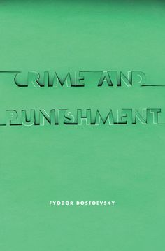 crime and punishment--a serious page turner, hard to put down once you get into it--awesome cover redesign: http://www.from-cover-to-cover.com/