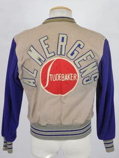 1950s Studebaker Reversible Car Dealership Jacket Size S