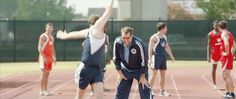 That's my nephew in the blue track suit!