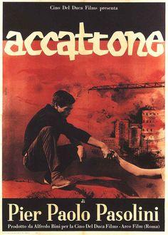 ACCATONE - Pier Paolo PASOLINI (1961) Affiche italienne