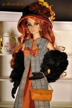 Ooak Set for Silkstone dolls / Fashion Royalty by Gretel