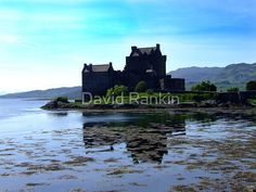Eilean Donan Castle in the Highlands of Scotland, Eilean Donan Castle is the most photographed castle in the world due to its unique location on an island in the middle of 3 lochs Eilean Donan, Scottish Highlands, Tower Bridge, Iphone Case Covers, Scotland, Castle, David, Island, World